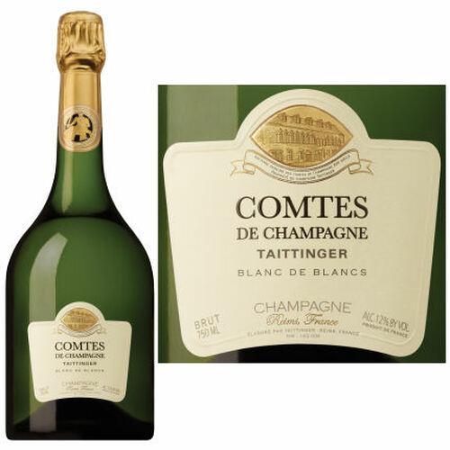 Taittinger Comtes de Champagne Blanc de Blancs Brut 2007 Rated 98JS