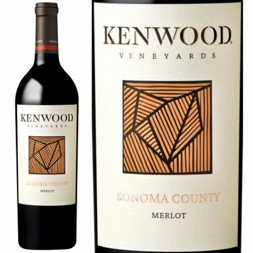 12 Bottle Case Kenwood Sonoma Merlot 2018