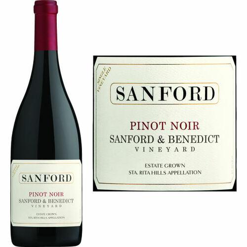 Sanford Sanford & Benedict Vineyard Pinot Noir 2015 Rated 94JD
