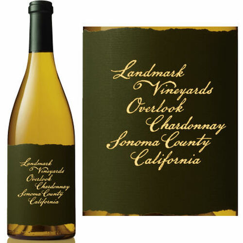 12 Bottle Case Landmark Overlook Sonoma Chardonnay 2014 375ML Half Bottle