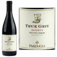 12 Bottle Case Parducci True Grit Reserve Mendocino Petite Sirah 2018 Rated 94WE CELLAR SELECTION