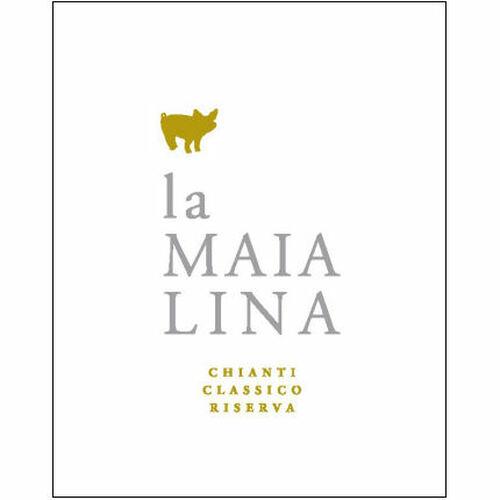 12 Bottle Case La Maialina Chianti Classico Riserva DOCG 2014 (Italy) Rated 88WA