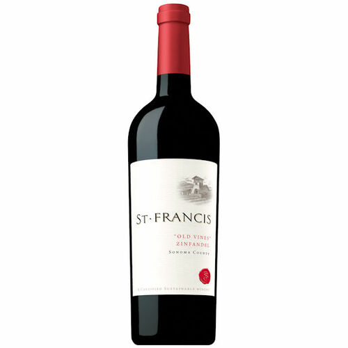 St. Francis Sonoma Old Vines Zinfandel 2018 Rated 91WS