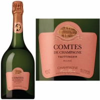 Taittinger Comtes de Champagne Rose 2006 Rated 95WS