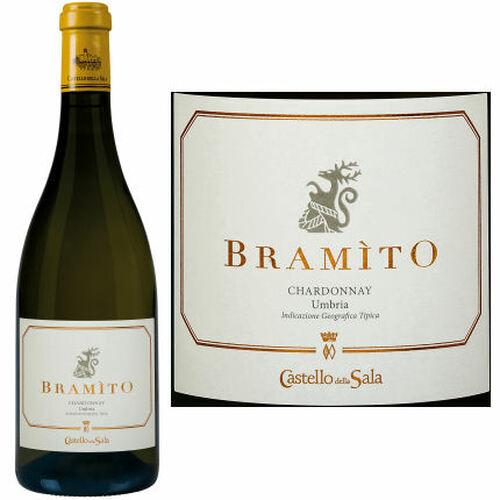 12 Bottle Case Antinori Castello della Sala Bramito Chardonnay Umbria IGT 2018