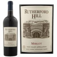 12 Bottle Case Rutherford Hill Napa Merlot 2013