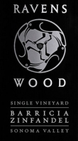 Ravenswood Barricia Sonoma Zinfandel 2012 Rated 90CG
