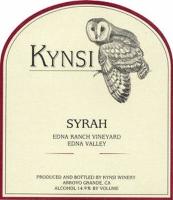 Kynsi Edna Ranch Vineyard Syrah 2013