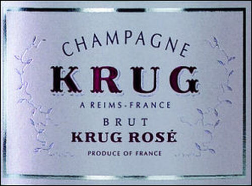 Krug Brut Rose NV Rated 97JS