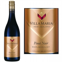 12 Bottle Case Villa Maria Cellar Selection Marlborough Pinot Noir 2014 (New Zealand)