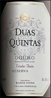 Ramos-Pinto Douro Duas Quintas Reserva Red Table Wine 2013 (Portugal) Rated 90+WA