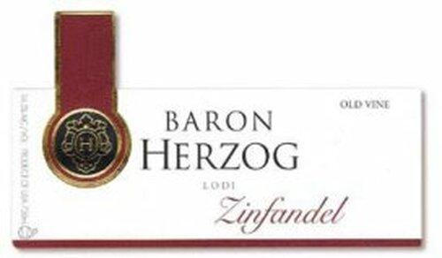 Baron Herzog Lodi Old Vine Zinfandel 2014