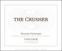 The Crusher Wilson Vineyard Clarksburg Viognier 2013