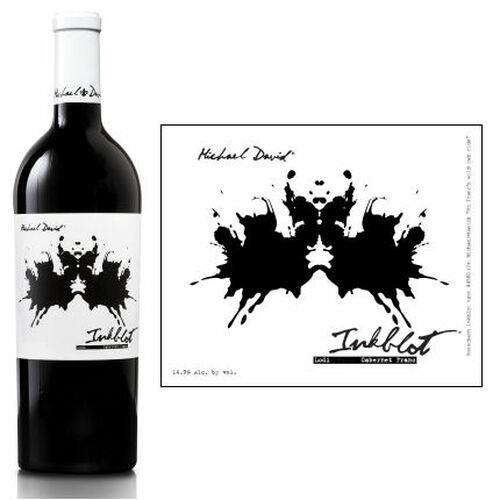 12 Bottle Case Michael David Inkblot Lodi Cabernet Franc 2017