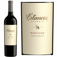 12 Bottle Case Estancia Paso Robles Reserve Meritage 2013
