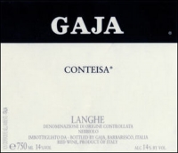Gaja Conteisa Nebbiolo Langhe DOC 2011 (Italy) Rated 95JS