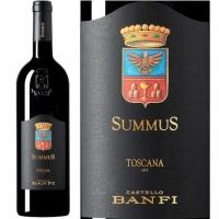 12 Bottle Case Castello Banfi SummuS Toscana IGT 2016 Rated 94+WA