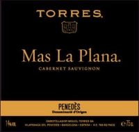 Torres Mas La Plana Cabernet 2011 (Spain) Rated 92WA