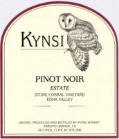 Kynsi Stone Corral Vineyard Pinot Noir 2013 Rated 93WE