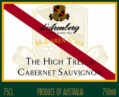 d'Arenberg The High Trellis Cabernet 2013 (Australia)