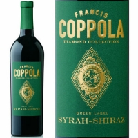 12 Bottle Case Francis Coppola Diamond Series Green Label Syrah-Shiraz 2012