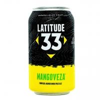 Latitude 33 Brewing Mangoveza Tropical Mango IPA 12oz 6 Pack Cans