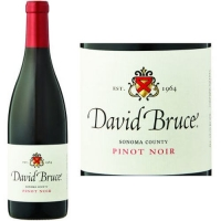 12 Bottle Case David Bruce Sonoma Coast Pinot Noir 2014