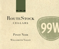 RouteStock Cellars Willamette Route 99W Pinot Noir 2016