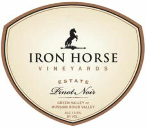 Iron Horse Estate Pinot Noir 2014 Rated 91WE