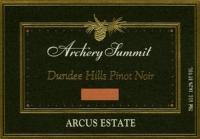 Archery Summit Arcus Estate Pinot Noir Oregon 2016 Rated 93WE EDITORS CHOICE