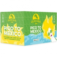 Golden Road Pico to Mexico Cucumber Lime Lager 12oz 6 Pack Cans