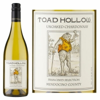 Toad Hollow Francine's Selection Mendocino Unoaked Chardonnay 2015