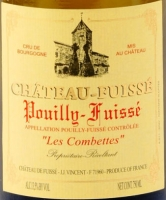 Chateau Fuisse Pouilly Fuisse Les Combettes 2013 Rated 92WE