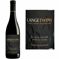 LangeTwins Estate Clarksburg Pinot Noir 2017