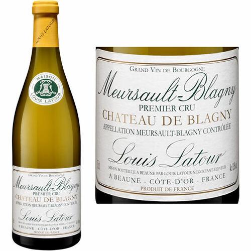 Louis Latour Meursault 1er Cru Chateau de Blagny Chardonnay 2018 Rated 91JS