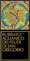 12 Bottle Case Feudi di San Gregorio Rubrato Aglianico 2016