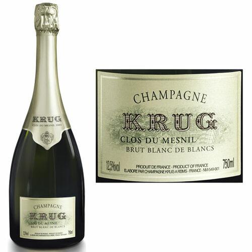Krug Clos du Mesnil Blanc de Blancs 2004 Rated 98+VM