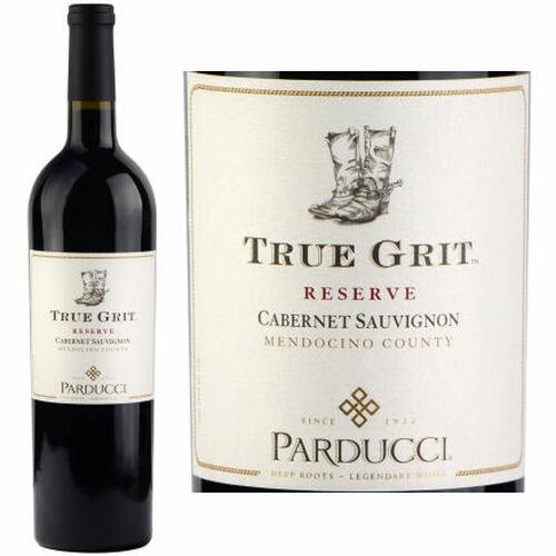 12 Bottle Case Parducci True Grit Reserve Mendocino Cabernet 2017
