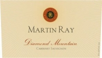 Martin Ray Diamond Mt. Cabernet 2015 Rated 94JS