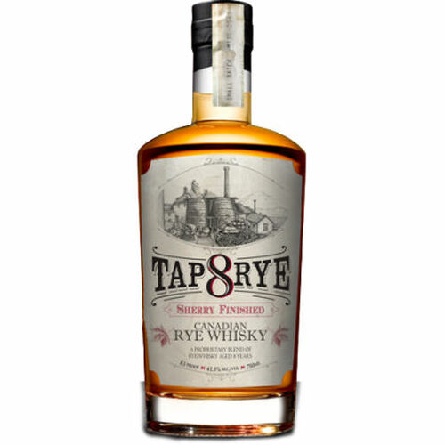 Tap Rye 8 Year Old Sherry Finished Rye Canadian Whisky 750ml