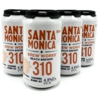 Santa Monica Brew Works 310 California Blonde Ale 12oz 6 Pack Cans