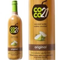 Coco21 Original Coconut Water Vodka Cocktail 750ml