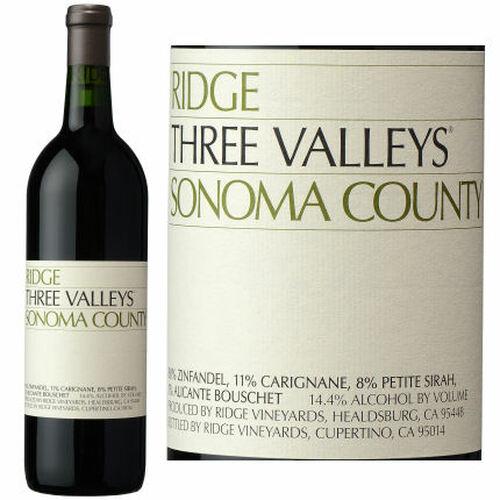 Ridge Three Valley Sonoma County Red Blend 2018