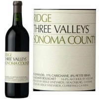 Ridge Three Valley Sonoma County Red Blend 2015