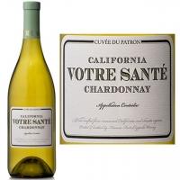 12 Bottle Case Votre Sante California Chardonnay 2014