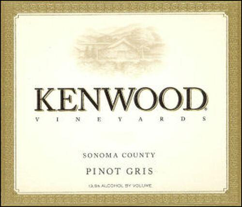 Kenwood Sonoma Pinot Gris 2013
