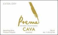 Poema Cava Extra Dry NV (Spain)
