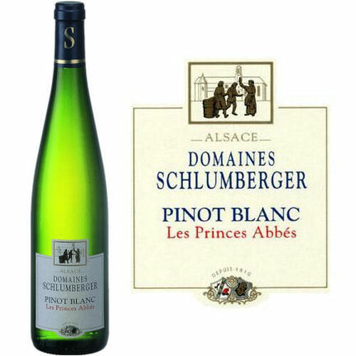 Domaines Schlumberger Alsace Pinot Blanc Les Princes Abbes 2018