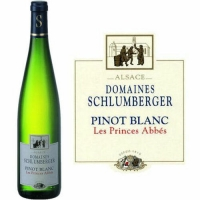 Domaines Schlumberger Alsace Pinot Blanc Les Princes Abbes 2015