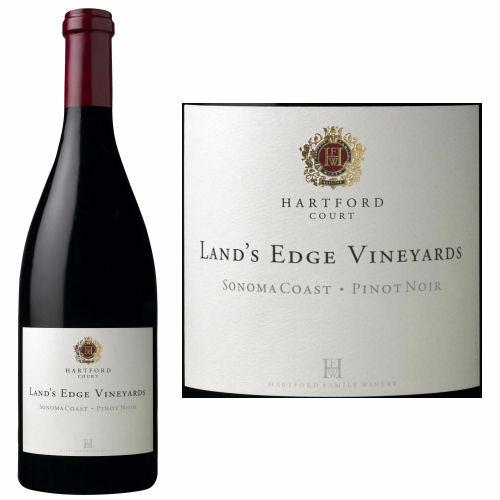 Hartford Court Land's Edge Vineyard Sonoma Coast Pinot Noir 2016 Rated 93WA